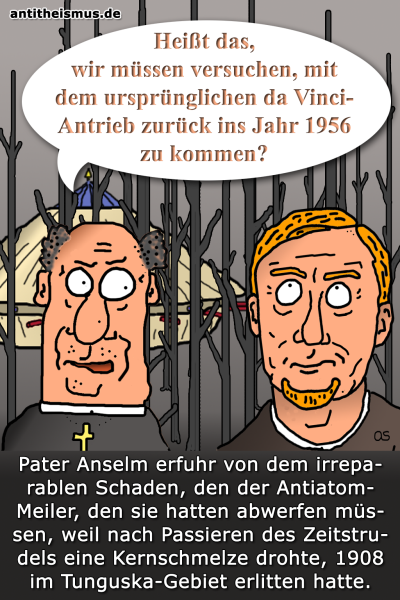 Pater Anselms Weltraummission: 1908 - Tunguska