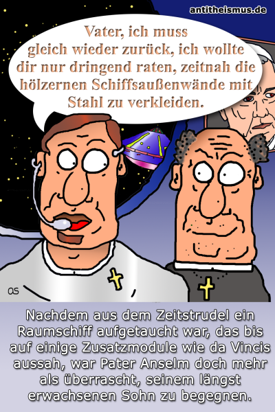 Pater Anselms Weltraummission: 1990 - Generationen