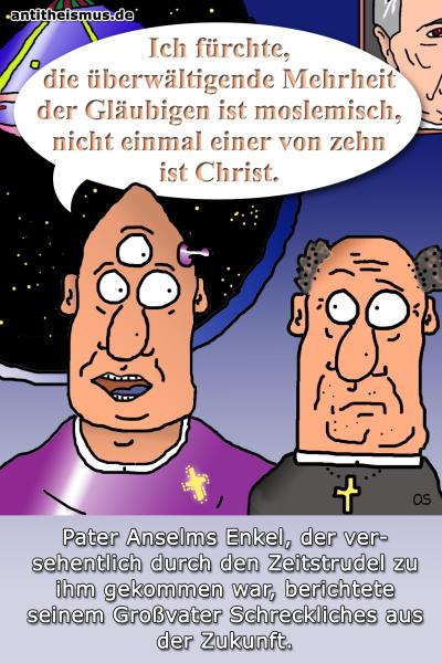 Pater Anselms Weltraummission: 2020 - Mehrheit