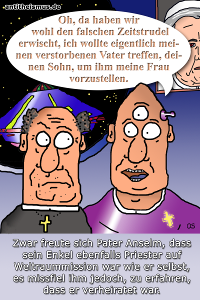 Pater Anselms Weltraummission: 2020 - Priesterehe