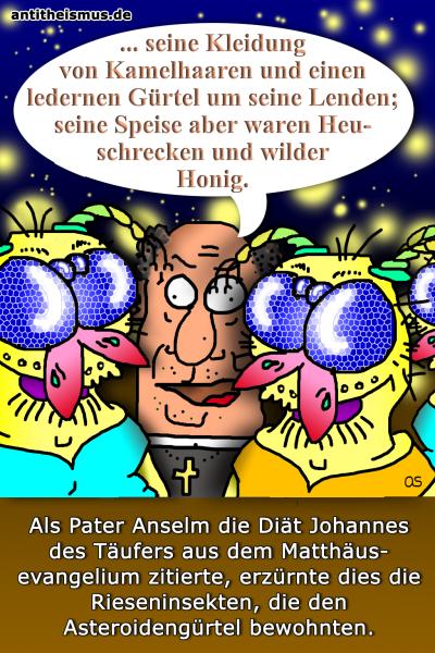 Pater Anselms Weltraummission: Asteroiden - Wirbellose
