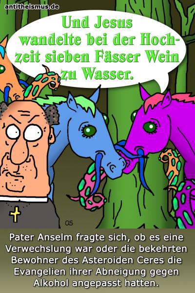 Pater Anselms Weltraummission: Ceres - Wasserzuwein