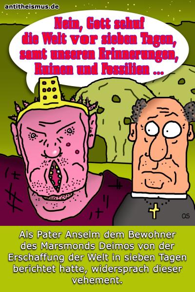 Pater Anselms Weltraummission: Deimos - Schoepfung