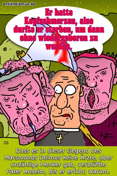 Pater Anselms Weltraummission: Deimos - Reinkarnation