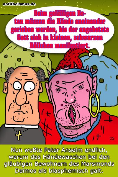 Pater Anselms Weltraummission: Deimos - Gebete
