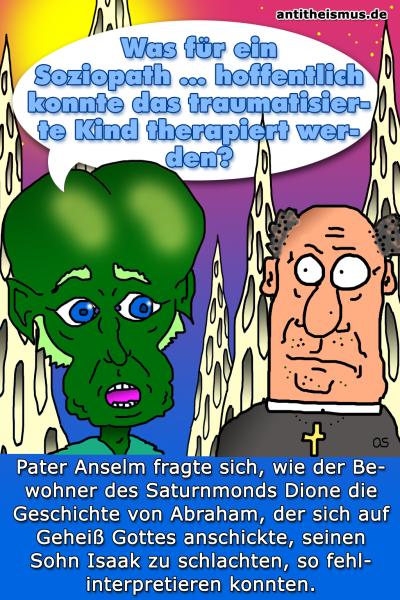 Pater Anselms Weltraummission: Dione - Schlachtaltar