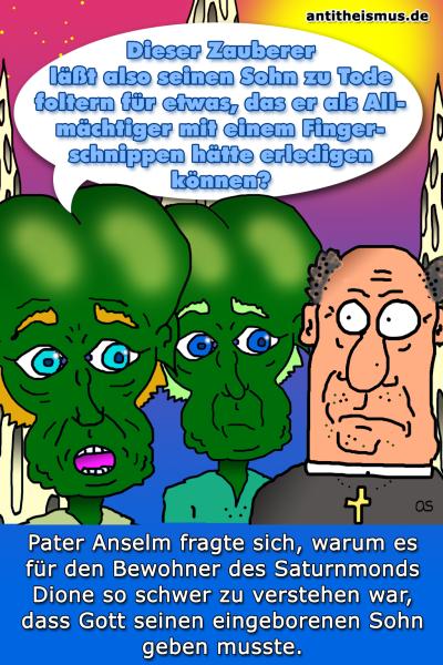 Pater Anselms Weltraummission: Dione - Foltergott