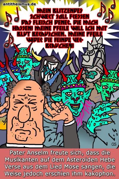 Pater Anselms Weltraummission: Hebe - Schwermetall