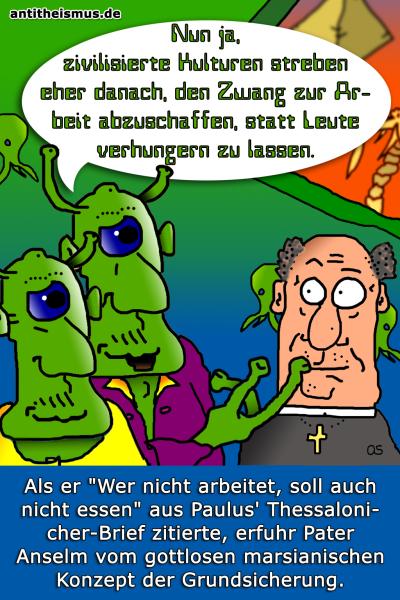 Pater Anselms Weltraummission: Mars - Zwangsarbeit