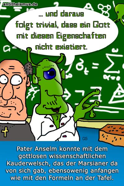 Pater Anselms Weltraummission: Mars - Gottesbeweis