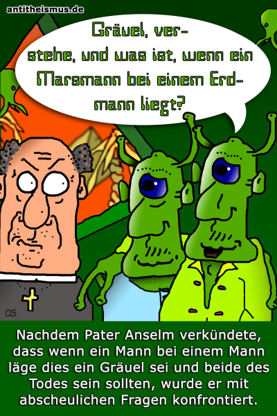 Pater Anselms Weltraummission: Mars - Homo