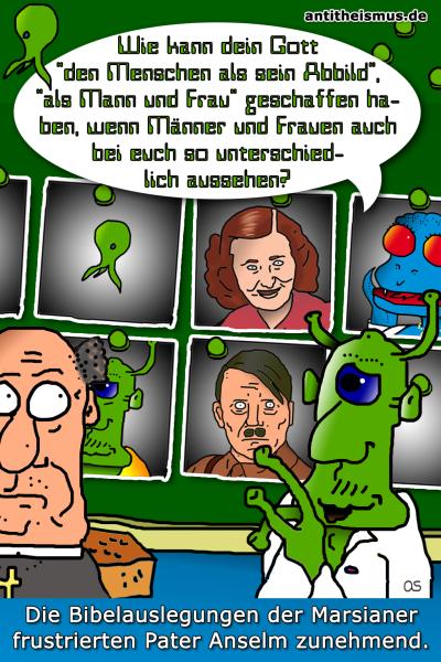 Pater Anselms Weltraummission: Mars - Adolfundeva