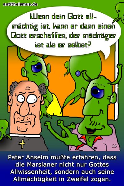 Pater Anselms Weltraummission: Mars - Allmaechtiger