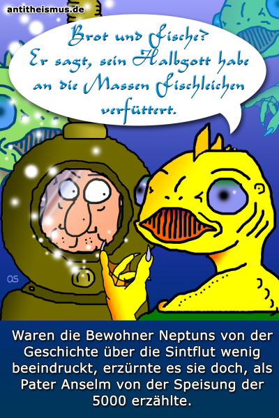 Pater Anselms Weltraummission: Neptun - Fische