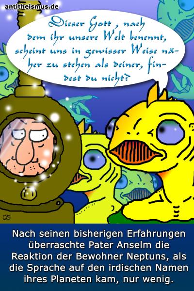 Pater Anselms Weltraummission: Neptun - Poseidon
