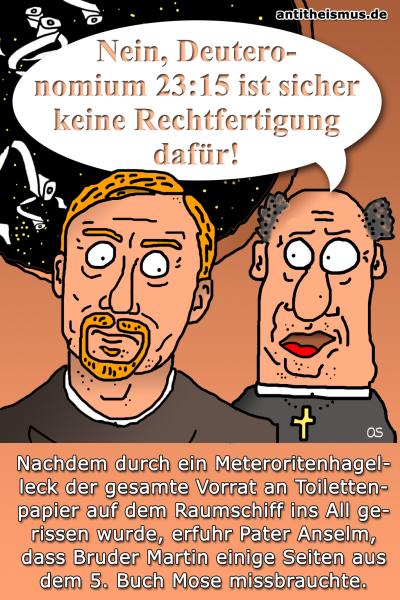 Pater Anselms Weltraummission: Raumschiff - Notdurft