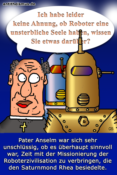 Pater Anselms Weltraummission: Rhea - Roboterseelen
