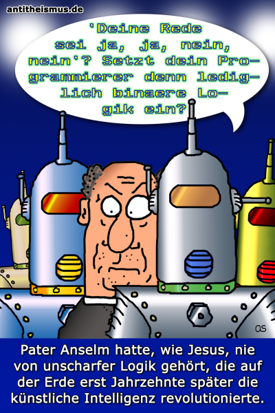 Pater Anselms Weltraummission: Rhea - Fuzzylogik