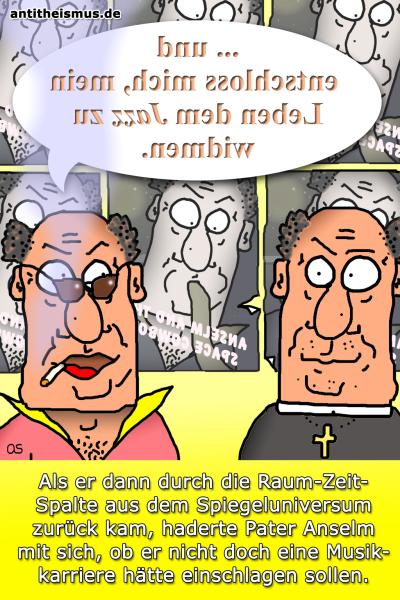 Pater Anselms Weltraummission: Spiegeluniversum - Spieglein