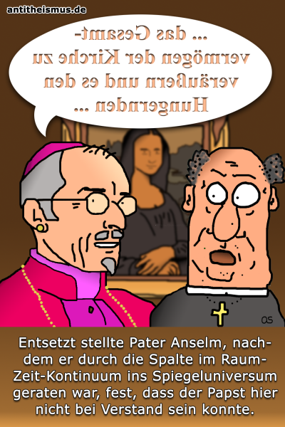 Pater Anselms Weltraummission: Spiegeluniversum - Gegenpapst