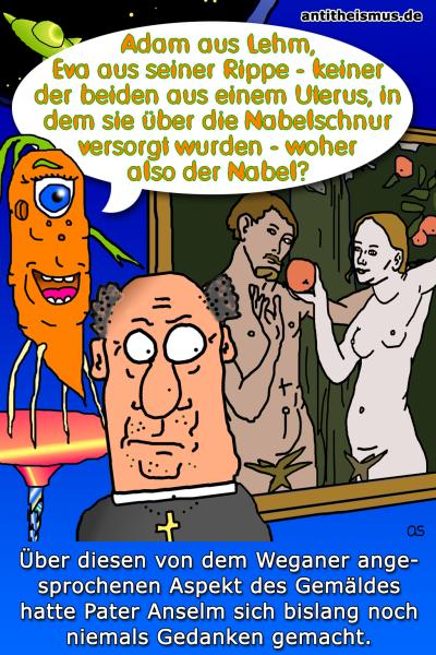 Pater Anselms Weltraummission: Weganer - Nabelschau