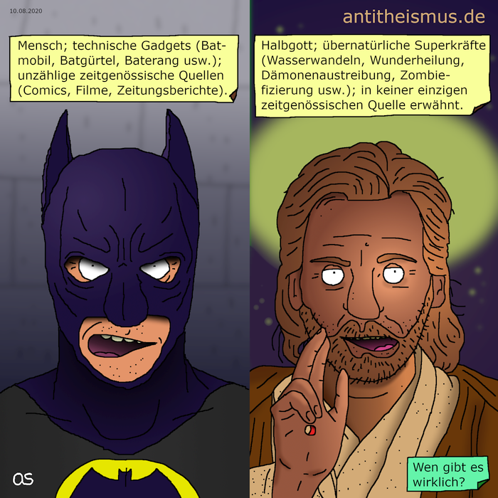 Batman vs. Jesus